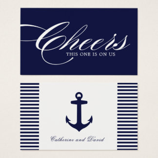 Nautical Drink Tickets - Pack of 100