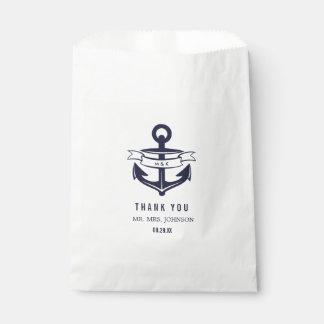 Nautical Favor Bags   WEDDINGS
