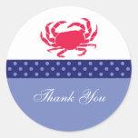 Nautical Favor Sticker