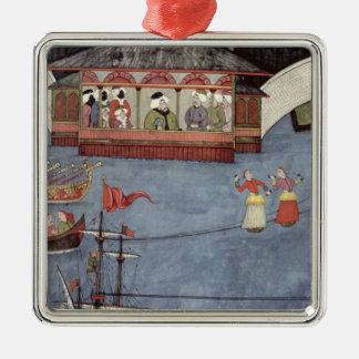 Nautical Festival before Sultan Ahmed III Metal Ornament