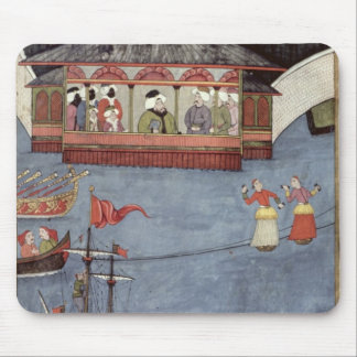 Nautical Festival before Sultan Ahmed III Mouse Pad