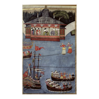 Nautical Festival before Sultan Ahmed III Poster