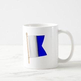 Nautical Flag 'A' Mugs
