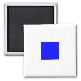 Nautical Flag Alphabet Sign Letter S (Sierra) Magnet