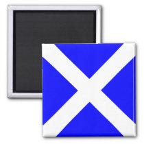 Nautical Flag Alphabet Signal Letter M (Mike) Magnet