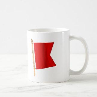 Nautical Flag 'B' Coffee Mug