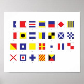 Nautical Flag Chart