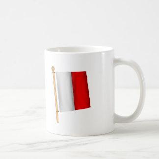 Nautical Flag 'H' Coffee Mugs