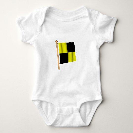 Nautical Flag 'L' Baby Bodysuit