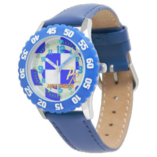 Nautical Flag Letter N November Kids Sailing Watch