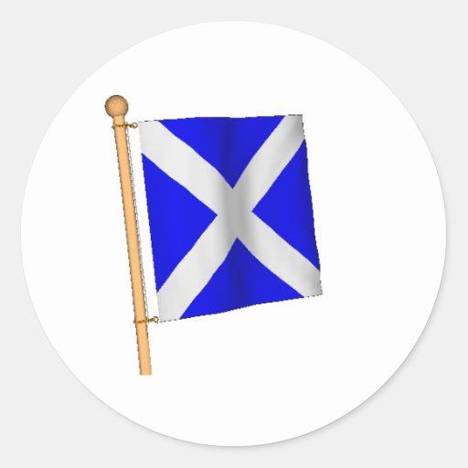 Nautical Flag 'M' Classic Round Sticker