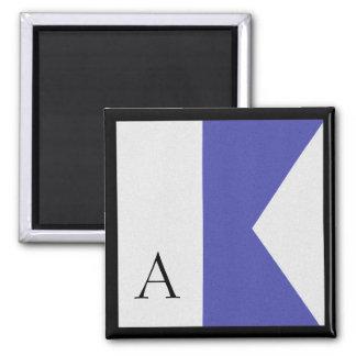 Nautical Flag Magnet Alphabet Letter A