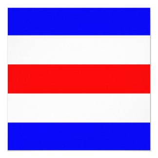 Nautical Flag Signal Charlie Letter C Card