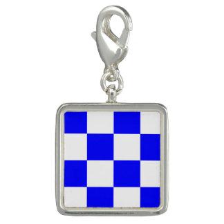 "Nautical Flag Signal Code Letter N ""November"" Charms"