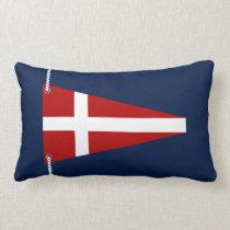 Nautical Flag, Signal Flag, Nautical Lumbar Pillow