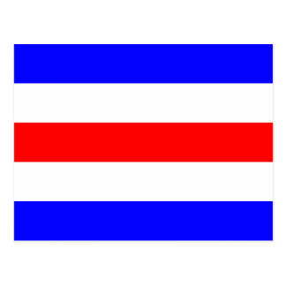 Nautical Flag Signal Letter C (Charlie) Post Card