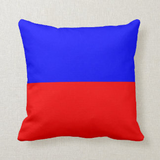 Nautical Flag Signal Letter E (Echo) Throw Pillows