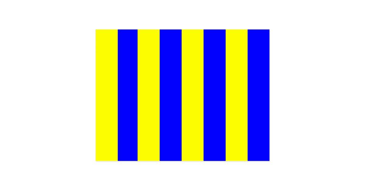 Nautical Flag Signal Letter G Golf Postcard