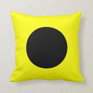 Nautical Flag Signal Letter I Throw Pillows