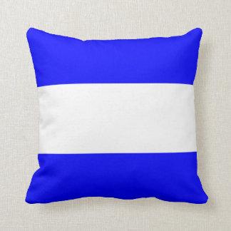 Nautical Flag Signal Letter J Throw Pillow