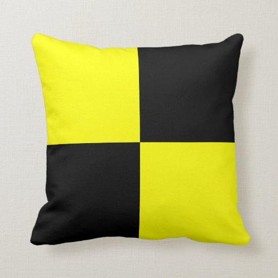 Letter L Throw Pillow : Nautical Flag Signal Letter L Throw Pillow Zazzle.com