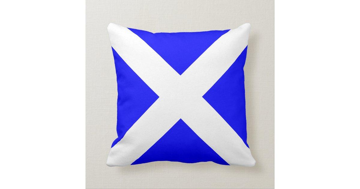 Nautical Flag Signal Letter M Throw Pillow Zazzle