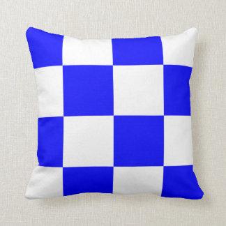 Nautical Flag Signal Letter N Throw Pillows