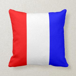 Nautical Flag Signal Letter T Tango Throw Pillow