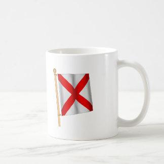 Nautical Flag 'V' Classic White Coffee Mug