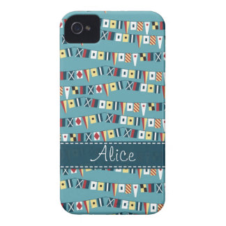 Nautical Flags Case-Mate iPhone 4 Case
