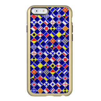 Nautical Flags Theme Design Incipio Feather® Shine iPhone 6 Case