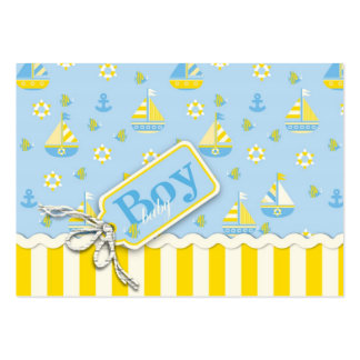 Nautical Gift Tag Large Business Card