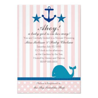 Nautical Girl Card