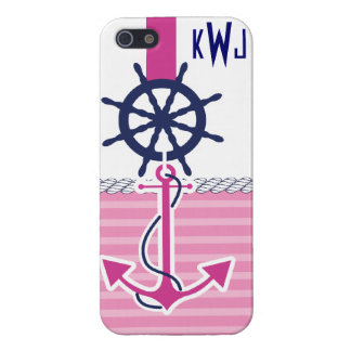 Nautical Girl iPhone 5 Cover