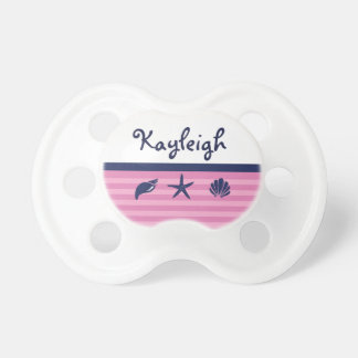 Nautical Girl Personalized Pacifier