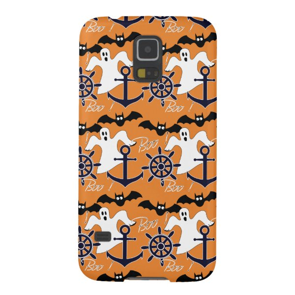 Nautical Halloween pattern Case For Galaxy S5
