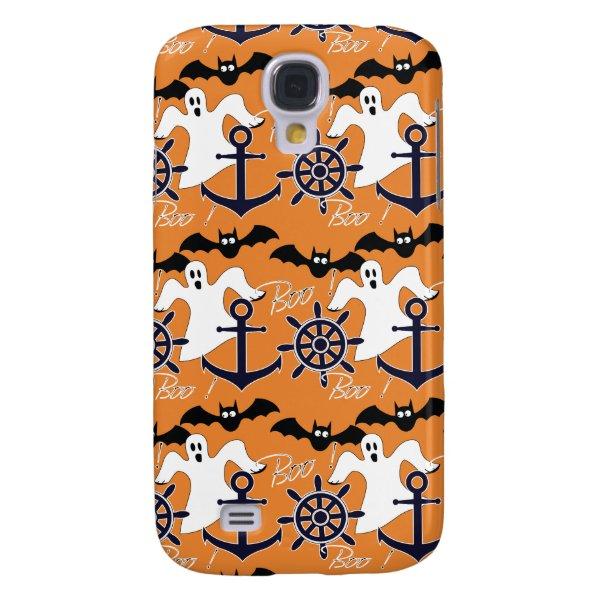 Nautical Halloween pattern Galaxy S4 Cover