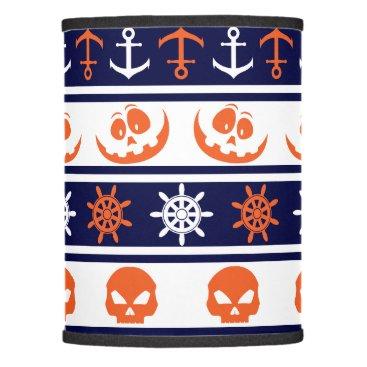 Halloween Themed Nautical Halloween pattern Lamp Shade