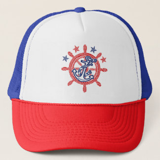 Nautical Hat Captain First Mate Skipper Your Hat