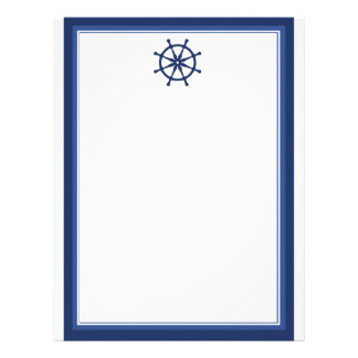 Nautical Helm Letterhead