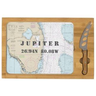 Nautical Home Port Latitude Longitude Jupiter, FL