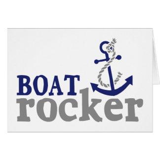 Nautical Humor Boat Rocker Card
