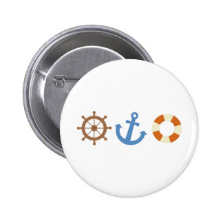 Nautical Icons Pins