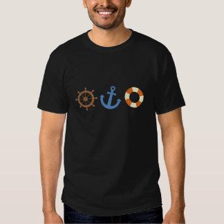 Nautical Icons Tshirts
