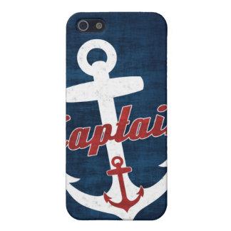 Nautical iPhone 5 case Anchor Captain Sailor