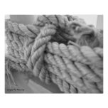 Nautical Knot #1 Poster