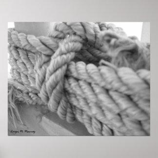 Nautical Knot 1 Print