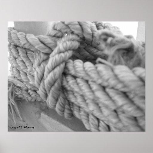 Nautical Knot #1 Print