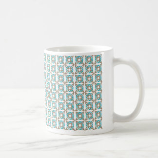 nautical knot design coffee mug
