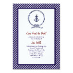 "Nautical Knot Invitation 5"" X 7"" Invitation Card"